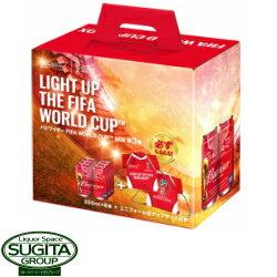バドワイザーFIFA WORLD CUP BOX6本セット (ナップザック付)【350ml缶・6本入】(ビール)