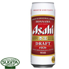 アサヒビール 本生ドラフト 【500ml缶・ケース・24本入】(発泡酒)