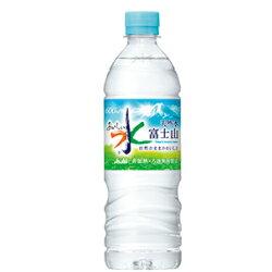 アサヒ 富士山のおいしい水【600ml・ケース・24本入】