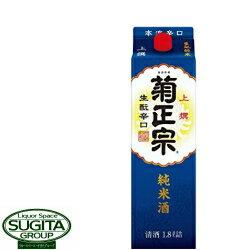 菊正宗 上撰 生酛辛口純米 1.8Lパック