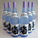 【ケース】海 うみ umi 1800mlx6本・大海酒造 芋焼酎 25度 鹿児島県 (ギフト対応不可)