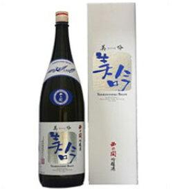 西の関 美吟 吟醸酒 1800ml瓶 萱島酒造 大分県 化粧箱入【RCP】