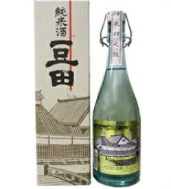 【取寄商品】薫長 純米酒「豆田」アンティークボトル 720ml瓶 クンチョウ酒造 大分県 化粧箱入