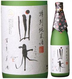 山水 特別純米酒 720ml瓶 日本酒 大分県 老松酒造 化粧箱なし