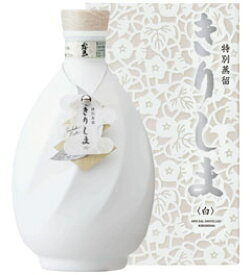 40度 特別蒸留きりしま 白 720ml瓶 芋焼酎 霧島酒造 宮崎県 化粧箱入【RCP】