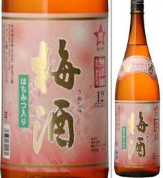 12度 宝星 梅酒(タカラボシ)1800ml瓶 本坊酒造 鹿児島県 化粧箱なし