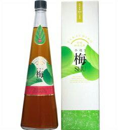 14度 梅SHU(うめしゅ)720ml瓶 麦焼酎ベース梅酒 神楽酒造 宮崎県 化粧箱入【RCP】