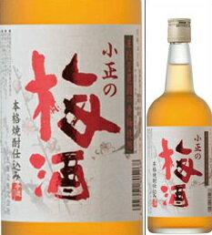14度 小正梅酒 700ml瓶 梅酒 小正醸造 鹿児島県 化粧箱なし