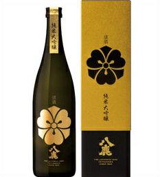 【取寄商品】八鹿 純米大吟醸(金) 720ml瓶 八鹿酒造 大分県 化粧箱入