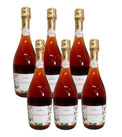 ドクターディムース カトレンブルガー ストロベリー [ スパークリングワイン ドイツ 750ml ] 6本セット ※【送料無料(北海道・東北・沖縄以外)】