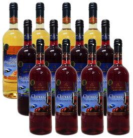 アップルシナモン&ブルーベリー&チェリー グリューワイン(ホットワイン)4本ずつ12本セット【送料無料(北海道・東北・沖縄以外)】