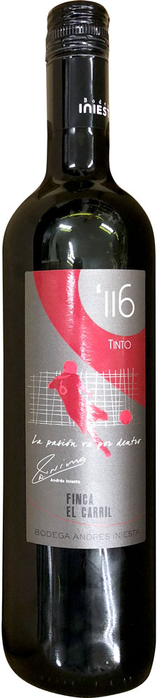 ボデガ・イニエスタ・ミヌート116・ティント 赤 wine red tinto iniesta