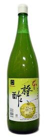 【尾道造酢】カクホシ 瀬戸内特産 橙酢(だいだいす) 1800ml