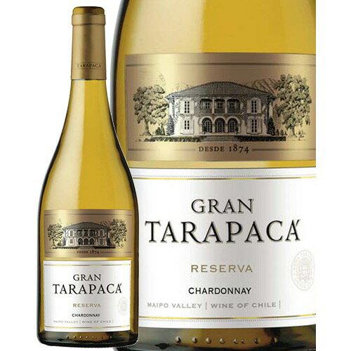 グラン タラパカ シャルドネ 750ml 【あす楽】 白ワイン チリ 辛口 ミディアムボディ