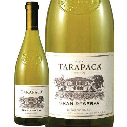 【あす楽】 タラパカ グラン レゼルバ シャルドネ 750ml 白ワイン チリ [N]