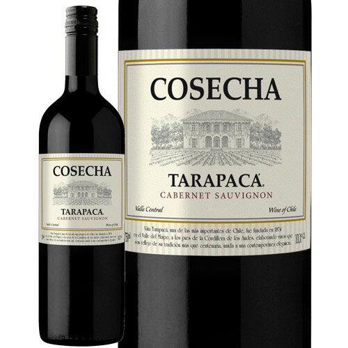 【あす楽】 コセチャ タラパカ カベルネ ソーヴィニヨン 750ml 赤ワイン チリ [N]
