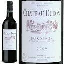 シャトー・デュドン 2009 赤ワイン フランス 750ml