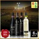 ルートワン root1 6本 選べるワインセット【送料無料】 チリ 五つ星 ワイン王国