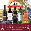 【送料無料】シュヴァリエセレクション 2018年4月 ワインセット 5本