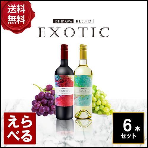 エキゾチック ワイン チリ 750ml 6本セット 【送料無料】【選べる】
