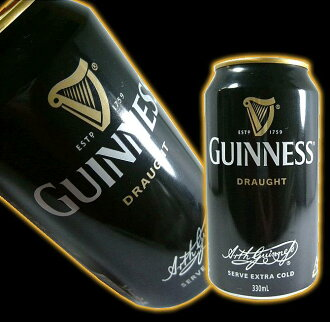 Draft Guinness 330 ml can of beer
