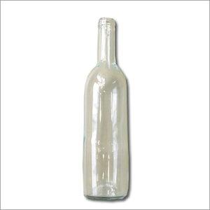 バラ 手作りワイン用 ワイン瓶透明 720nl