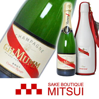 MUMM Cordon Rouge Protocol bag 750 ml
