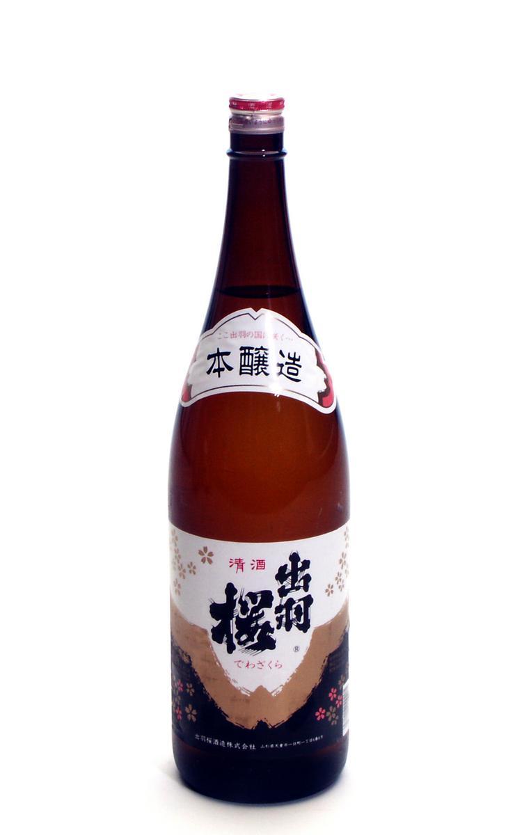 出羽桜酒造 本醸造酒 1.8L