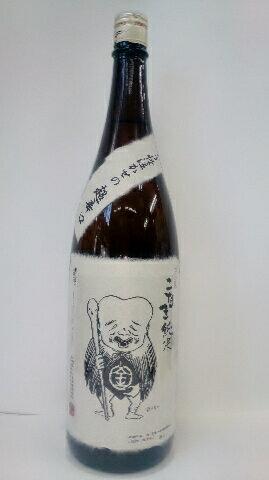 こなき 純米酒 超辛口 1.8L【鳥取県】【日本酒、五百万石、味に奥深さ、コクあり、冷から熱燗】【贈答品】