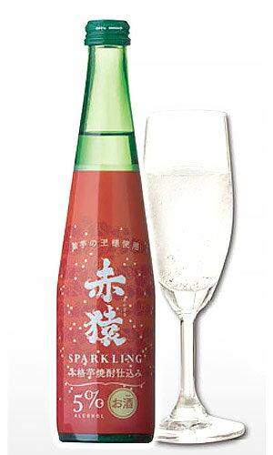 赤猿スパークリング 300ml 5% 鹿児島県 小正醸造