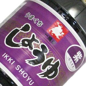 熊本県 緑屋本店 一騎印 紫醤油 こいくち 1L