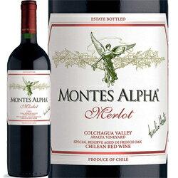 モンテス・アルファ・メルロ Montes 赤ワイン チリ 750ml