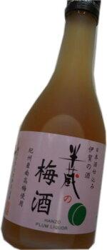 大田酒造半蔵の梅酒日本酒仕込み12度300ml伊賀地酒「半蔵」で仕込んだ梅酒。