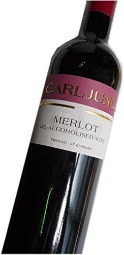 カールユング社ノンアルコールワイン カールユングメルロー 赤 750ml 脱アルコールワイン(アルコール0.5%以下)