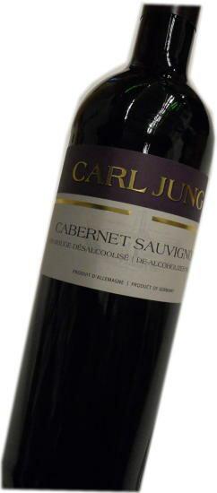 カールユング社ノンアルコールワイン カールユング カベルネソービニヨン 赤 750ml 脱アルコールワイン(アルコール0.5%以下)