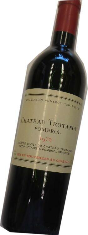 昭和47年の誕生年ワイン 1972年 シャトー・トロタノワ 箱入りギフトラッピング [1972] Chateau Trotanoy