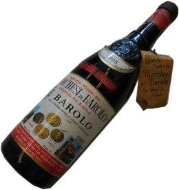昭和43年の誕生年ワイン 1968年 バローロ 赤 [1968] マルケージ・ディ・バローロ 箱入りギフトラッピング Marchesi di Barolo