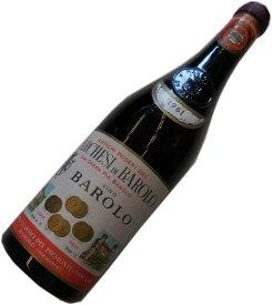 昭和36年の誕生年ワイン 1961年 バローロ 赤 [1961] マルケージ・ディ・バローロ 箱入りギフトラッピング Marchesi di Barolo