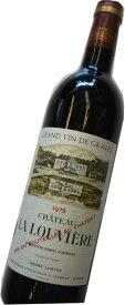 昭和54年の誕生年ワイン 1979年 シャトー・ラ・ルーヴィエール ルージュ  箱入りギフトラッピング [1979] Chateau La Louviere