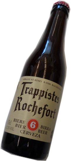 【ベルギービール】お好きな種類、混載可10本以上で送料無料! ロシュフォール6 330ml Rochefort 6
