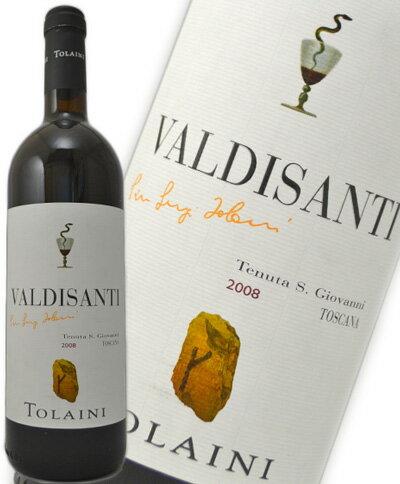 トライーニ ヴァルディサンティ [2008] 赤 750mlVALDISANTI TOLAINI 2008