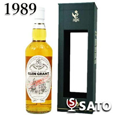 グレン グラント 1989 シングルカスク ゴードン&マクファイル 46度 700mlGLEN GRANT 1989 / GM SINGLE CASK BOTTLING FOR JIS[昭和64年/平成元年生まれの方に][記念日、お誕生日、ギフト、御祝][自分へのご褒美]