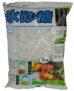 【デザインが変更になる場合があります】中日本馬印 氷砂糖 クリスタル 1kg