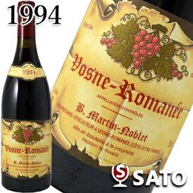 *ベルナール・マルタン・ノブレ ヴォーヌ・ロマネ [1994] 赤 750ml【5月〜9月はクール便配送となります】【R6519】