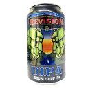 【 クール便対応 】リビジョン ダブル IPA 8% 355ml 缶 アメリカ ネバダ州 REVISION レビジョン クラフトビール 地ビール パーティー 美味しい 輸入ビール BBQ ラッキーシー