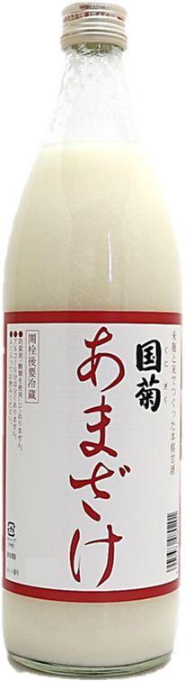 篠崎 国菊 甘酒(あまざけ) 900ml×6本 同梱不可