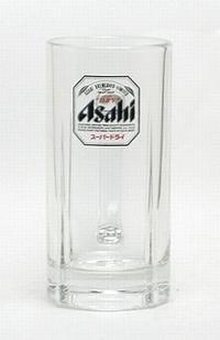 【消費税別7000円以上で送料無料】アサヒ スーパードライ ジョッキ 500mlロゴ黒