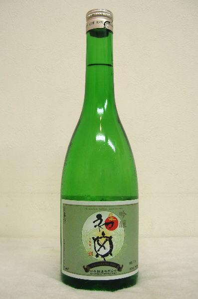 初亀「亀印」吟醸 平成28年度醸造 720ml