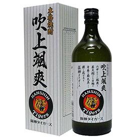 球団設立80周年阪神タイガースラベル吹上 颯爽(芋) 25度 720ml 箱付