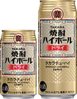 Treasure shochu highball dry 500 ml cans x 24